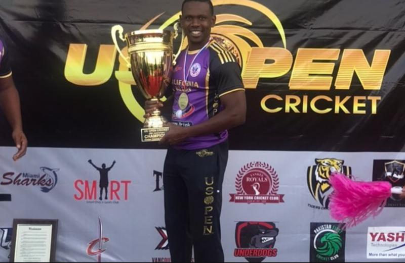 The US Open T20 Champion – An Interview With Navin Stewart